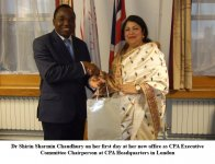 Hon\'ble Speaker Elected CPA Chairperson