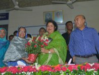 Hon'ble Speaker Visited 24 Rangpur-06, Pirganj on 26-27 May 2018