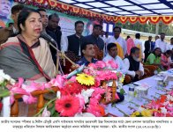 Hon'ble Speaker Visited Gaibandha & 24 Rangpur-06, Pirganj on 14-15 March 2018