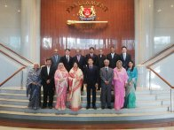 Hon'ble Speaker Visited Singapore on 26-31 May 2019
