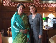 Hon'ble Speaker visited United Kingdom on 24 November, 2015