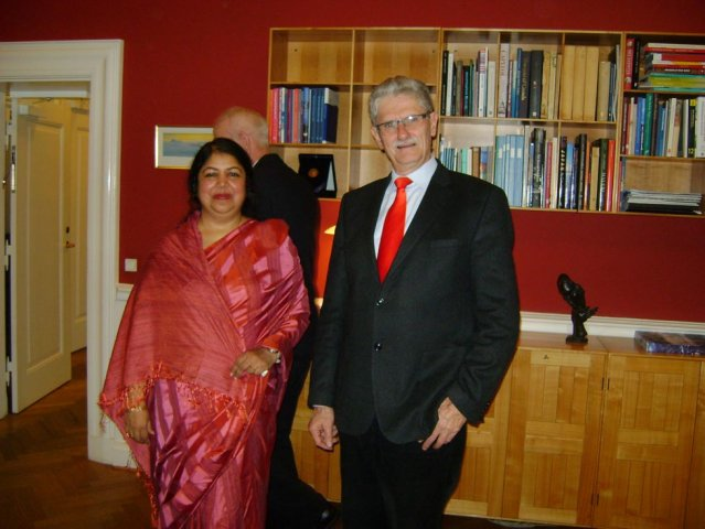 Hon\'ble Speaker visited Denmark on 16 December, 2013