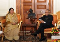 Hon'ble Speaker Visited India on 25-28 May, 2014