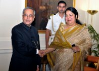 Hon\'ble Speaker Visited India