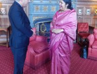 Hon'ble Speaker Visited United Kingdom on 14-22 July 2014